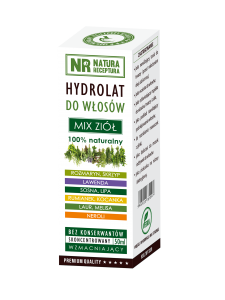 Hydrolat do włosów mix ziół 50 ml